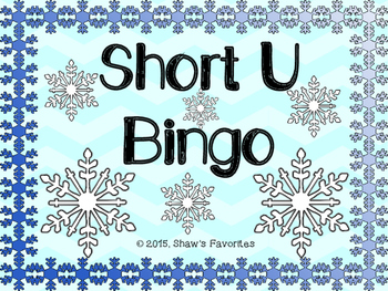 Winter Short U Bingo