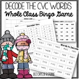 CVC Word Winter Activity