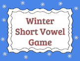 Winter Short Vowel Game