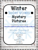 Winter Short Vowel Mystery Pictures