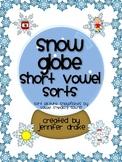 Winter Short Vowel Sorting Center/Game!