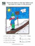 Winter Shoveler Music Activity Sheet