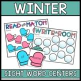 Winter Sight Word Activities for 1st Grade