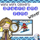 Winter Sight Word Activity:  Search and Find