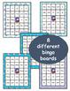Winter: Sight Word Bingo - Editable