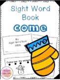Winter Sight Word Book- Come