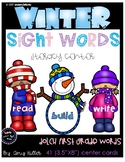 Winter Sight Word Center