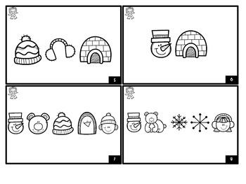 Winter Sight Word Decoding (Primer)