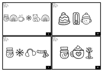 Winter Sight Word Decoding (Second Grade Dolch)