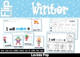 Winter Sight Word Fluency Flip Books