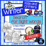 Winter Sight Word Free