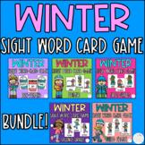 Winter Sight Word Games Bundle!