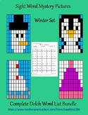 Winter Sight Word Mystery Pictures Bundle