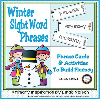 Winter Sight Word Phrases