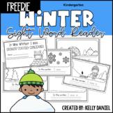 Winter Sight Word Reader - FREEBIE | Kindergarten | Distan