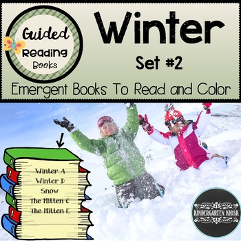 Winter Guided Readers: Set #2