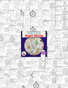 {FLASH DEAL 50% OFF LIMITED TIME} Winter Sight Word Warm Ups