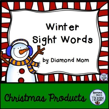 Winter Sight Words