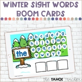 Winter Sight Words Boom Cards | Digital Reading Centers