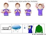 Winter Sign Language Packet