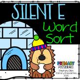 Winter Silent e Word Sort