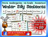 Winter Silly Sentences