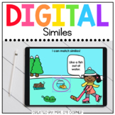 Winter Similes Digital Activity   Distance Learning