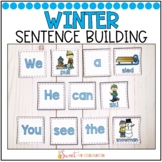 Winter Simple Sentence Building