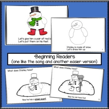 Snowman Song! Stanley the Snowman