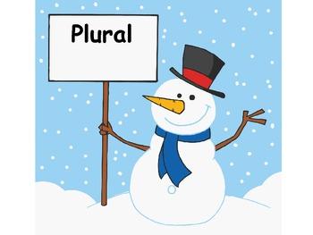 Winter Singular and Plural Nouns
