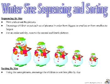 Winter Size Sequencing