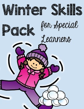 Winter Skills Pack for Special Learners