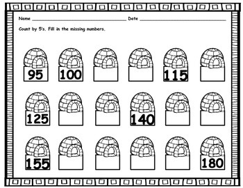 Winter Skip Counting Centers