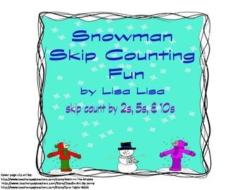 Snowman Skip Counting Fun
