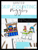 Winter Skip Counting Puzzles by Nichole L.