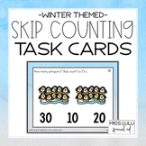 Winter Skip Counting Task Cards