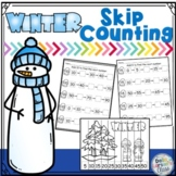 Winter Skip Counting by 5's and 10's