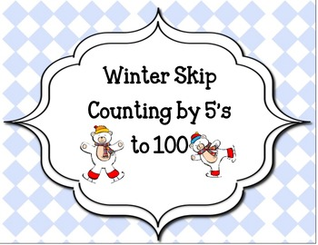 Winter Skip counting by 5's