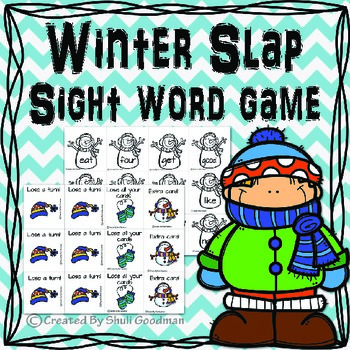 Winter Slap - a sight words game