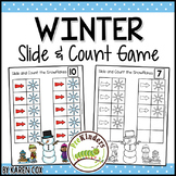 Winter Slide & Count Math   One to One Correspondence for Pre-K + K