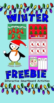 Winter Smartboard FREEBIE  Gr. 1