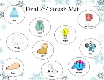 Winter Smash Mats | Phonological processes