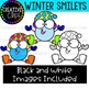 Winter Smileys {Winter Clipart}