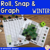 Winter Snap Cubes Graphing Counting Activity