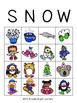 Winter Snow Bingo
