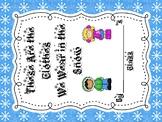 Winter Snow Class Book