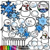 Snow Clipart (Winter Clipart)