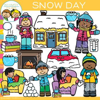 Winter Snow Day Clip Art