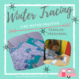 Winter/Snow Fine Motor Tracing Cards