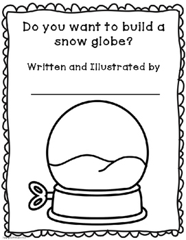 Winter Writing with Snow Globes